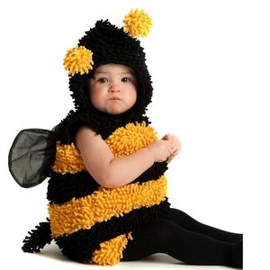 Baby Stinger Bee Halloween Costume Bumblebee 6-9 m